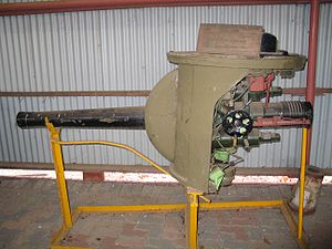 75 mm Gun M2/M3/M6 - M2 75 mm gun as mounted in medium tank M3