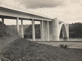 De Internationale Brug der Vriendschap in 1965