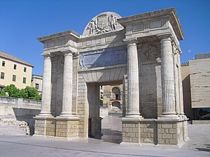 Historic centre of Córdoba - Image: Puerta del Puente, Córdoba (España)
