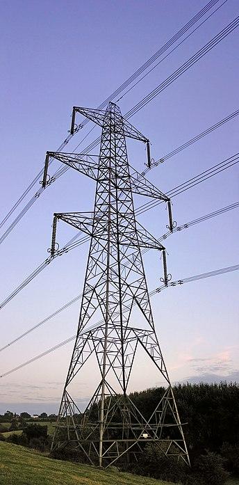 Aluminum powerlines image