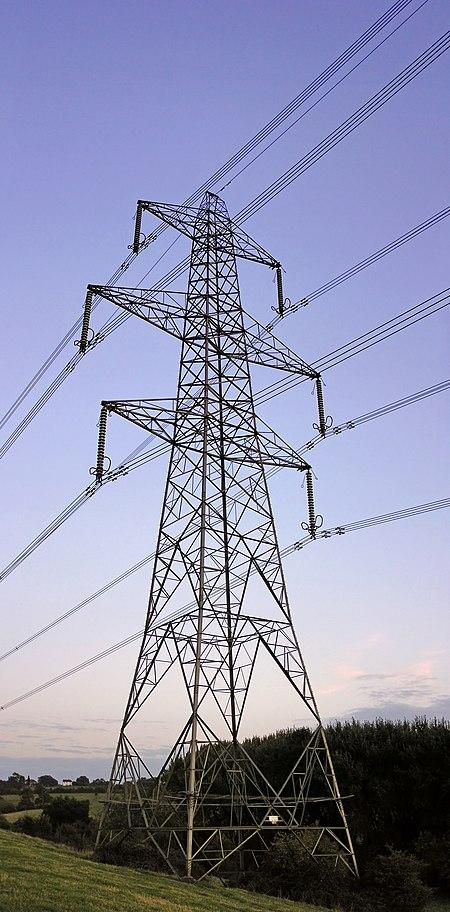 Saluran listrik udara