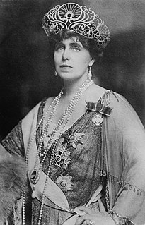 last Queen consort of Romania as the wife of King Ferdinand I