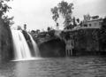 Queensland State Archives 1334 Mena Creek Falls Paronella Park Innisfail c 1935.png