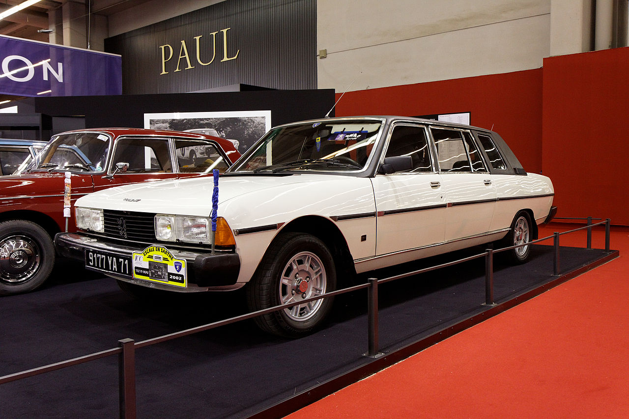 file r tromobile 2011 peugeot 604 grdt limousine heuliez 1982 wikimedia commons. Black Bedroom Furniture Sets. Home Design Ideas