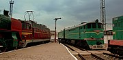 RAILWAY MUSEUM AT KIEV RAILWAY STATION UKRAINE SEP 2013 (9904657666).jpg