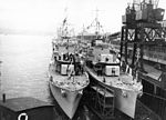 RCN destroyers at Vancouver 1939.jpg