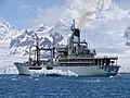 RFA Grey Rover on her last visit to the Falklands. MOD 45146051.jpg