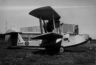 Royal New Zealand Air Force - Supermarine Walrus of the RNZAF's seaplane training flight.