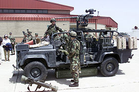 Ranger Special Operations Vehicle Rsov At National War College April 19 2001 Jpeg