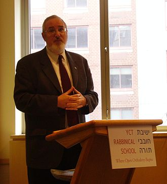 Marc D. Angel - Rabbi Angel speaking