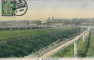 People's Square - The Shanghai Racecourse in 1912.