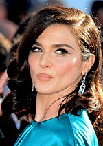 Photo of Weisz at the Cannes Film Festival in 2015.