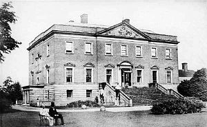 Radbourne Hall - Radbourne Hall in the 1860s