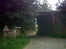 Railway Bridge,near Loudham Hall - geograph.org.uk - 240605.jpg