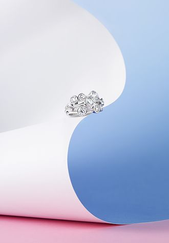 Boodles (company) - The Boodles Raindance Ring, selected in 2008 to appear in the Victoria and Albert Museum's permanent jewellery collection.