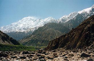 Nagar (princely state) - Mount Rakaposhi