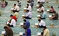 Ramadan 1439 AH, Qur'an reading at Imam Hasan Mosque, Kish - 30 May 2018 12.jpg