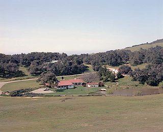 Rancho del Cielo President Ronald Reagans ranch and vacation home