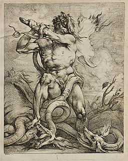 Raphael Lamar West - Hercules and the Hydra