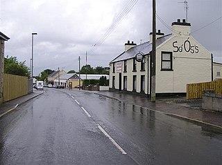 Rasharkin village in Northern Ireland