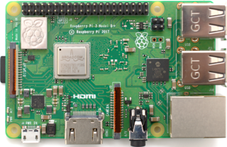 Raspberry Pi series of credit-card-sized single-board computers dedicated for educational purposes
