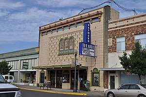 Raymond, Washington - The Raymond Theatre is one of three buildings in Raymond listed on the National Register of Historic Places, along with the city's library and post office.