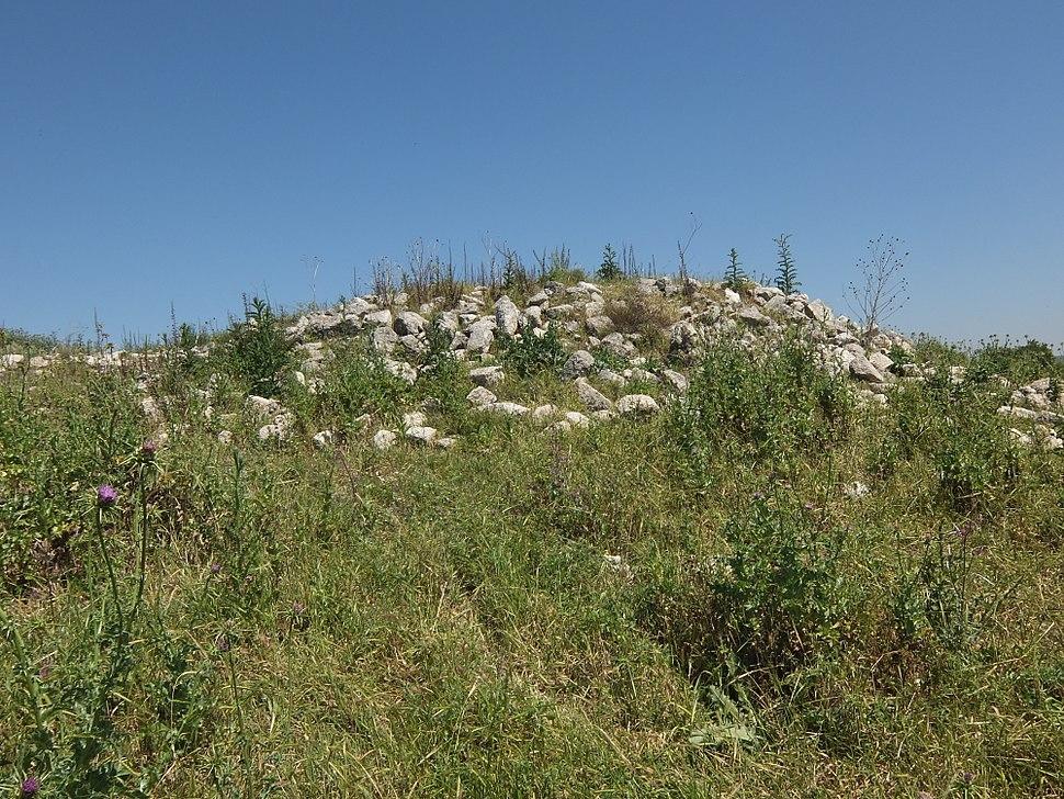 Razed structure in Bayt Nattif, April 2015