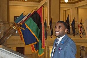 John Collins-Muhammad - Image: Rbg flag ald