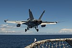 Rear view of VAQ-142 EA-18G Grower launching from USS Carl Vinson (CVN-70) 160506-N-TP834-041.jpg