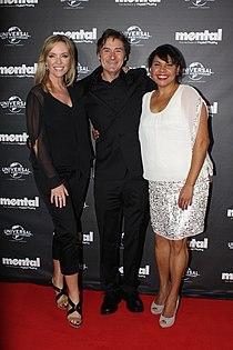 Rebecca Gibney, Pj Hogan, Deborah Mailman (7999303614).jpg