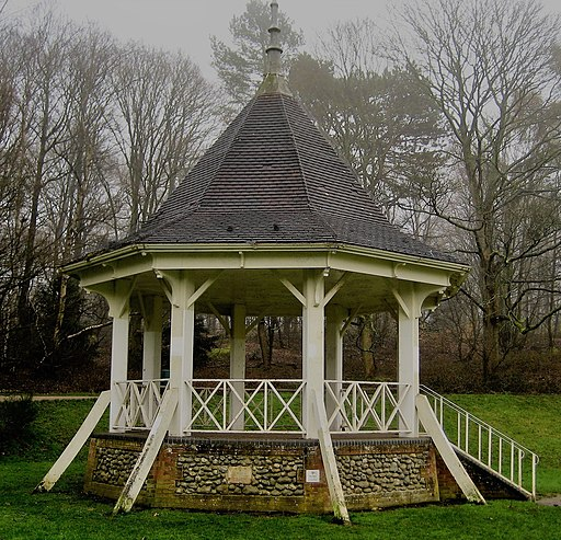 Reconstructed Bandstand Mousehold Heath