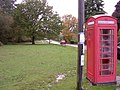 Red telephone box alongside Woodlands Road, New Forest - geograph.org.uk - 73051.jpg