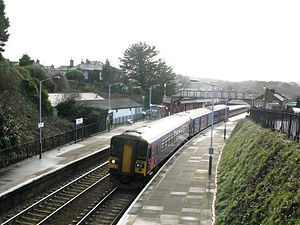 Redruth railway station - Image: Redruth 153359 150239
