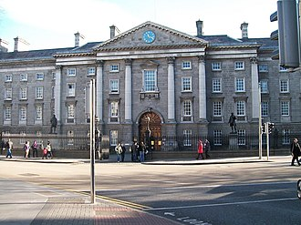 Irish Convention - Irish Convention venue: Regent House,  and front entrance, Trinity College, Dublin.