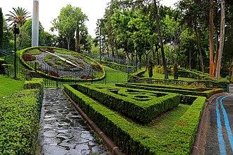 Colonia Extremadura Insurgentes - Parque Hundido, landmark of Extremadura Insurgentes