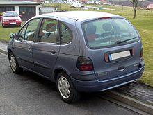 Renault Mégane Scénic I Phase I Heck.JPG