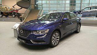 Renault Samsung Motors - Image: Renault Samsung SM6 2016 06 08 01
