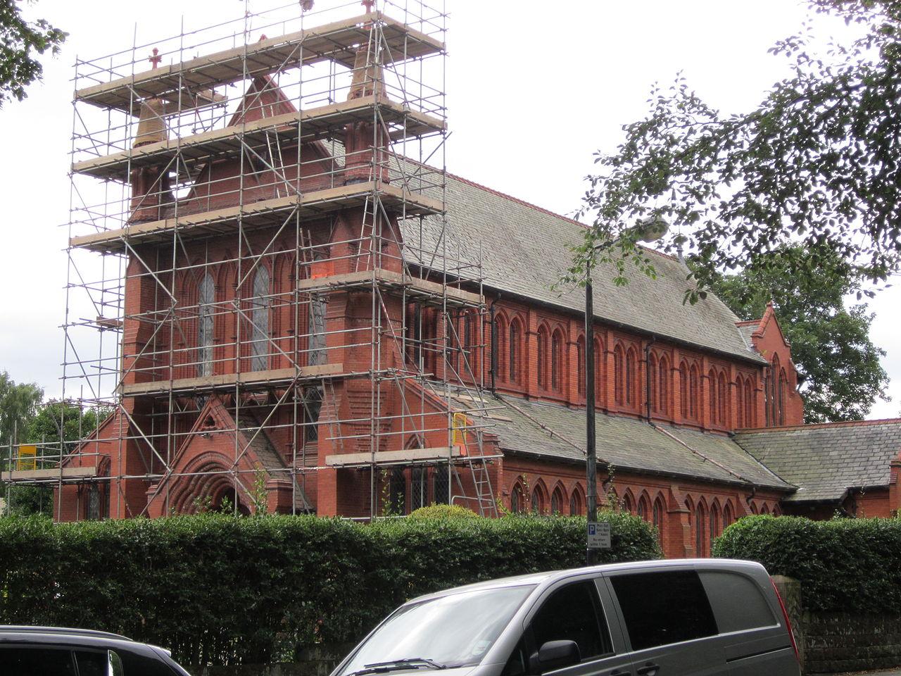 File:Renovation at St Vincent De Paul RC Church ...