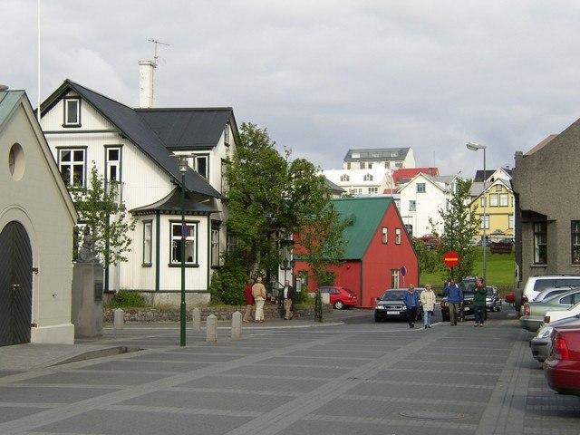 Reykjavík belváros 2004 07 12
