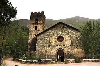 Vall de Cardós - St. Mary's church, Ribera de Cardós