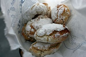 Almond biscuit - Image: Ricciarelli from Siena 2