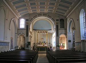 St Elizabeth of Portugal Church - Interior of the church