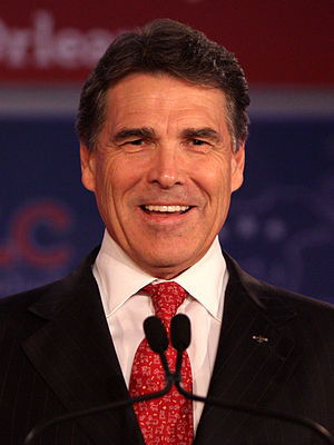 English: Rick Perry at the Republican Leadersh...