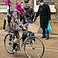Ridden bicycle with basket in Brick Lane, London.jpg