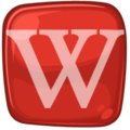 Rie Red-White Icon Wikipedia.png