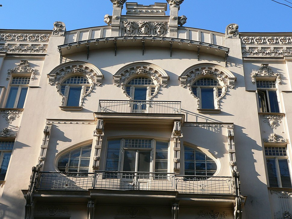 Riga Art Nouveau 2