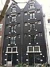 foto van Dubbel pakhuis met achterpakhuis