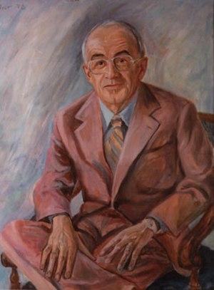 Ludwig Bölkow - Ludwig Bölkow,  Portrait by Günter Rittner 1978