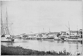 Pasig River - Pasig River in 1900
