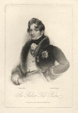 Robert Ker Porter - Self portrait of Robert Ker Porter